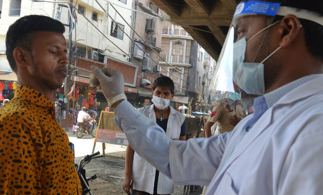 Woman dies, 67 test +ve in Ludhiana district