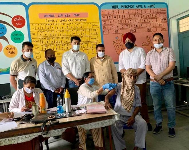 4 vax camps organised in Sahnewal