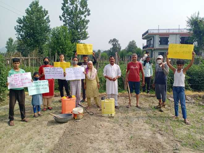 Protest over proposed airport in Balh valley