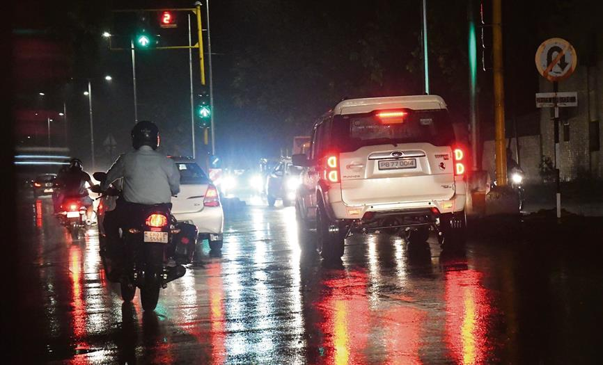 Showers bring much-needed relief for Chandigarh residents