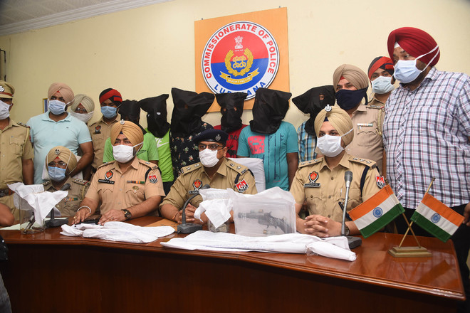 Snatchers' gang busted, 6 held in Ludhiana