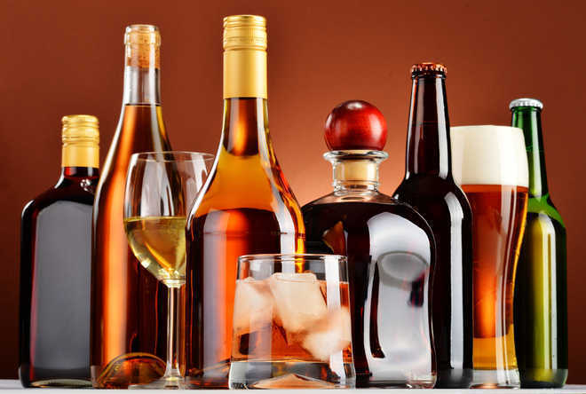 Now, get imported liquor at departmental stores