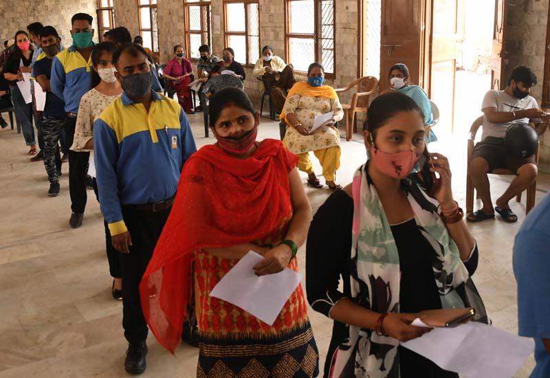 Covid vaccination in 'full swing' in Mohali