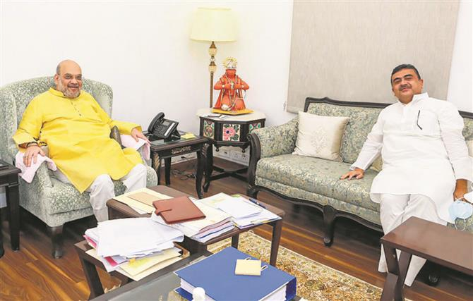 Mukul Roy skips BJP meet, sparks speculation