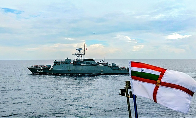 India, Thailand navies begin joint patrol