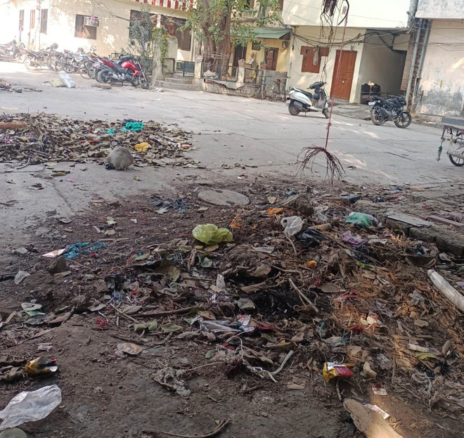 Cleanliness takes a back seat near martyr Sukhdev Thapar's ancestral house in Ludhiana