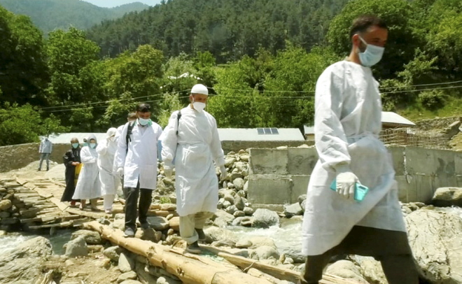 Bandipora village first to vaccinate all adults
