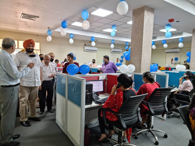 PSPCL's expanded call centre inaugurated