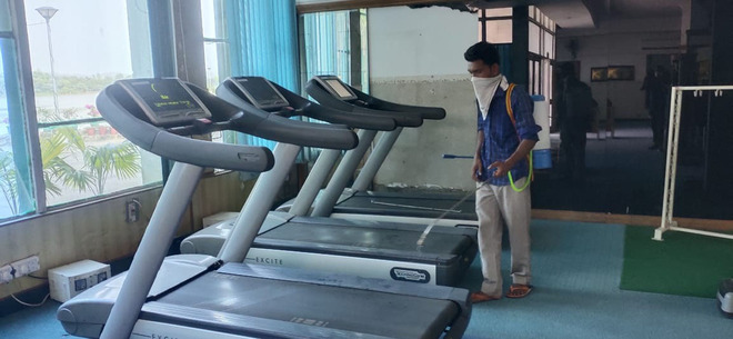 Lake Sports Complex gym reopens today