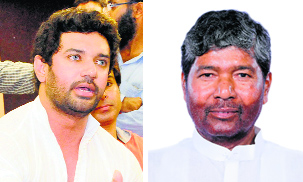 Chirag Paswan ousted, uncle Pashupati Paras  LJP party leader