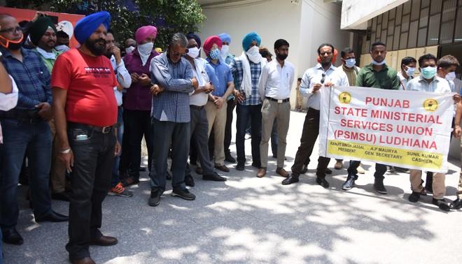 Ludhiana DC office staff observe pen-down strike