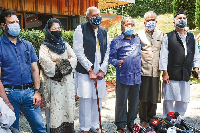 PAGD, Cong accept PM's invite, stick to full statehood demand for J&K