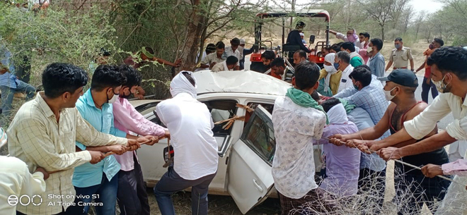 Abohar Cong leader's son dies in road mishap