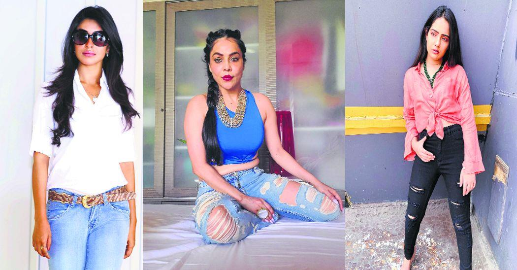 Ever thought of combining denims with fine jewellery? If not, take a cue from these designers