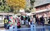 Dejected, tourists in Himachal return home