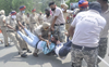 Jobless youth lathicharged, detained in Patiala