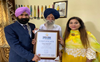 110-year-old Fauja Singh sets fitness goals for younger generation
