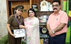 Asst prof commissioned as Lt in NCC