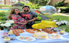A surprise baby shower for Prianka Singha