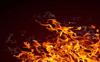 Man sets self on fire outside police station
