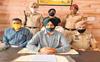 Man held with 1.3-kg heroin