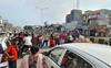 Irked over poor roads, Jalandhar residents block highway