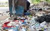 Locals dump waste in open