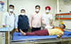 175 units of blood collected during camp at EMC hospital