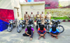 3 held with 6 stolen bikes