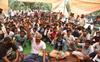 Sanitation workers demand regular jobs