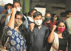 2 days after bail, student activists out of Tihar Jail