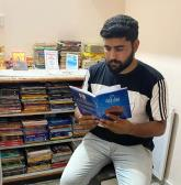 He is making books accessible to all with 'Tera Tera library'
