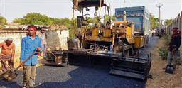 MC's road repair work during monsoon raises eyebrows