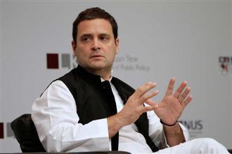 Rahul Gandhi meets Punjab ministers as AICC panel raises poll promises with Capt Amarinder