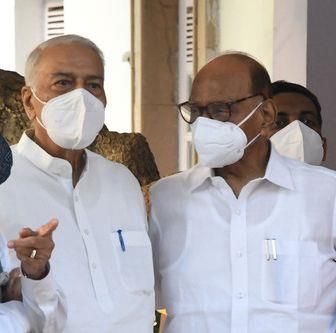 Seven Oppn parties attend Pawar meet, Cong gives it a miss
