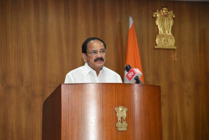 Vice-Prez inaugurates World Universities Summit, calls upon India to be 'Vishwaguru' in Education