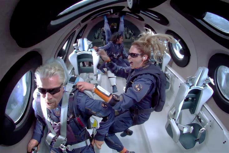 Billionaire Branson soars to space aboard Virgin Galactic flight, Bezos congratulates