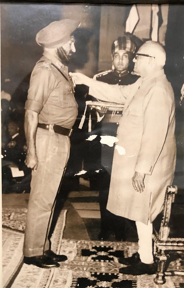 Brig Sant Singh, MVC and Bar, displayed outstanding gallantry in 1965, 1971 wars