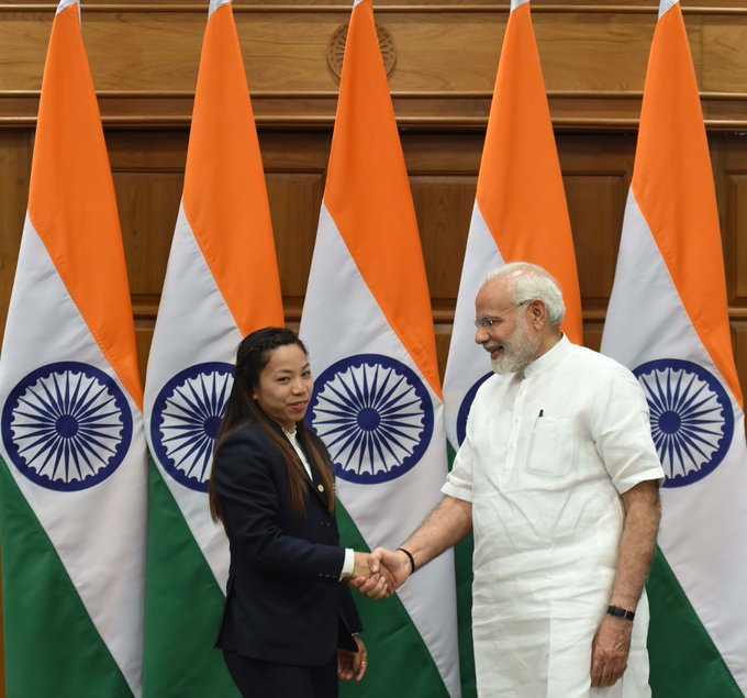 Could not have asked for a happier start, says PM as India celebrates first Olympic medal in Tokyo
