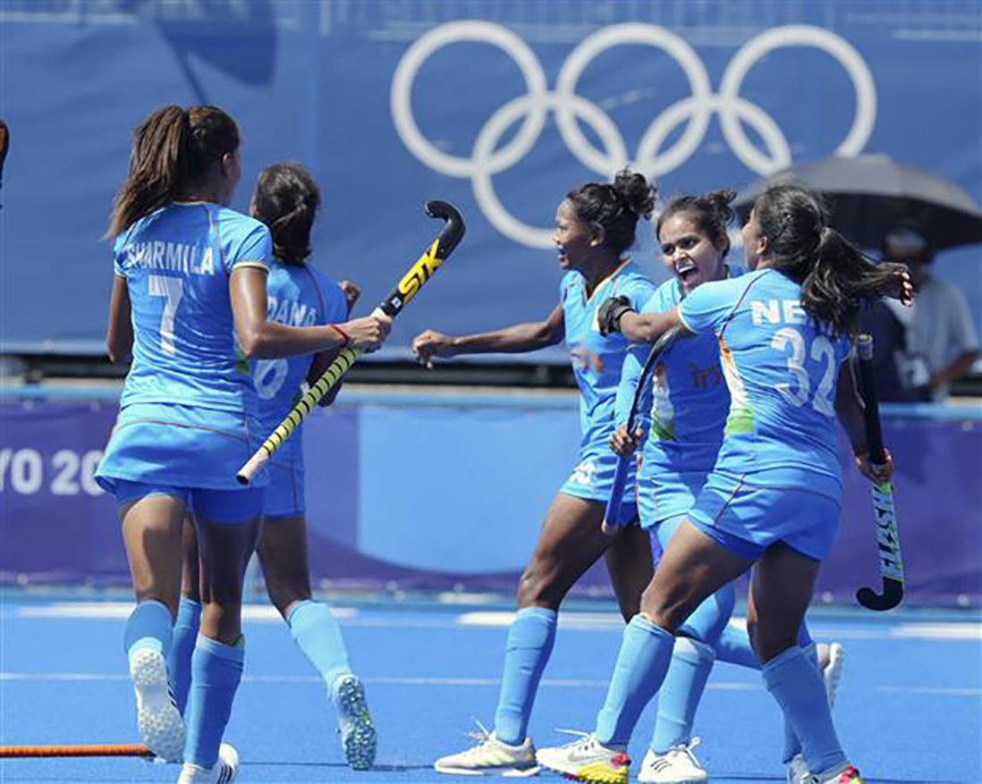 Hockey: Indian women reach Olympic quarter-finals after 41 years