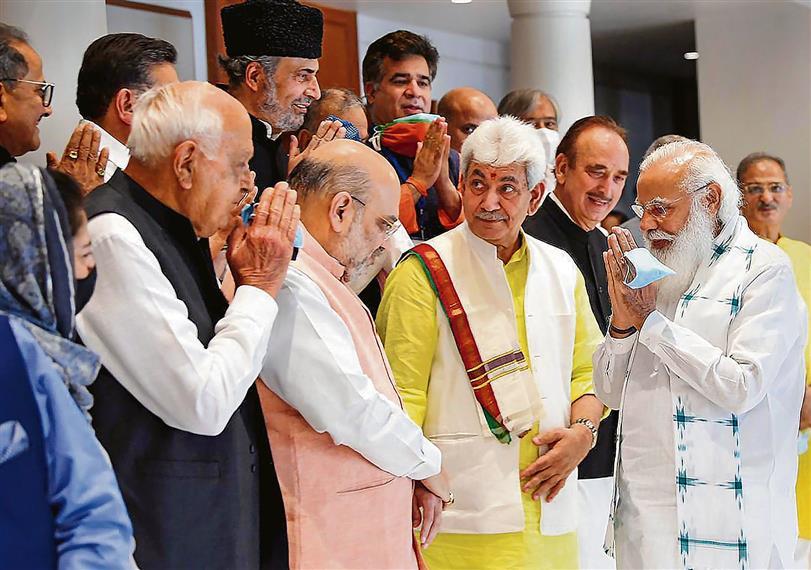 Next step — Jammu and Kashmir statehood
