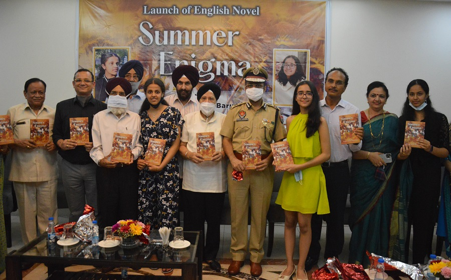 English novel penned by 14-year-old girls released in Ludhiana