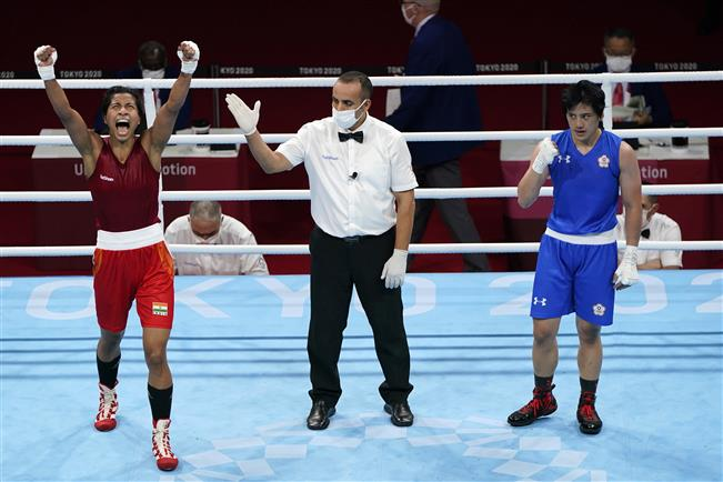 Welcome to the club: Indian boxing's pioneers Vijender, Mary Kom congratulate Lovlina