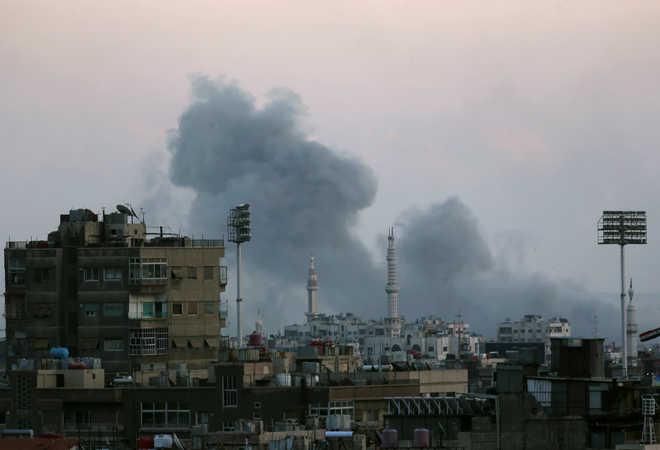 9 killed in strikes on Syria's last rebel enclave