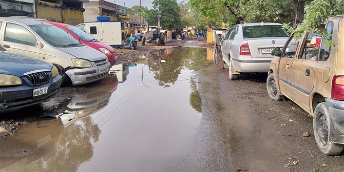 Waterlogging irks Patiala residents