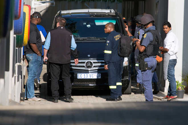 Interpol issues red notices against 2 Gupta brothers who fled South Africa
