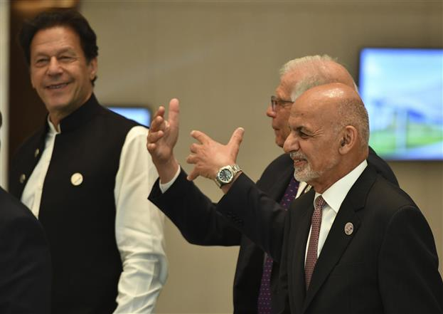 Sparks fly between Imran Khan, Ashraf Ghani at Tashkent meet