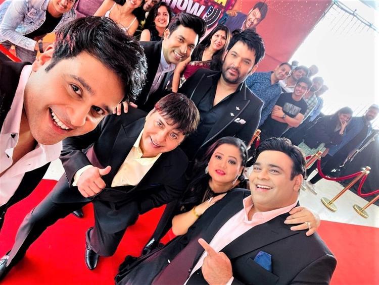 Kapil Sharma kicks-off shoot of his show