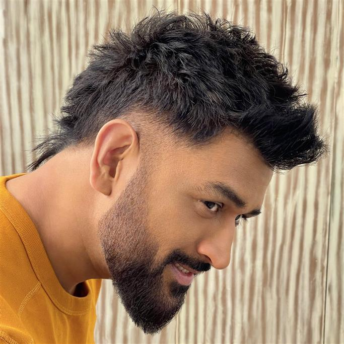 MS Dhoni trends with stunning 'faux-hawk' haircut: See pictures