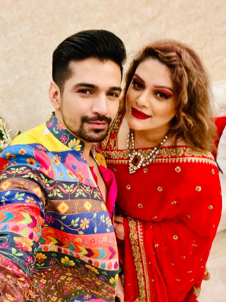 Chandni Soni shares a special bond with Vishal Singh